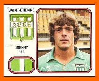 JOHNNY REP Saint-Etienne (1982)
