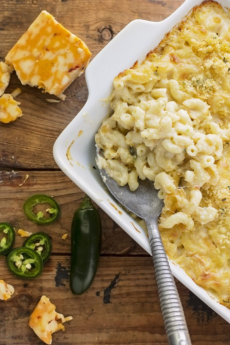 Spicy baked mac and cheese is the perfect, creamy, spicy change from the everyday and this cranked up version of my most popular recipe delivers.