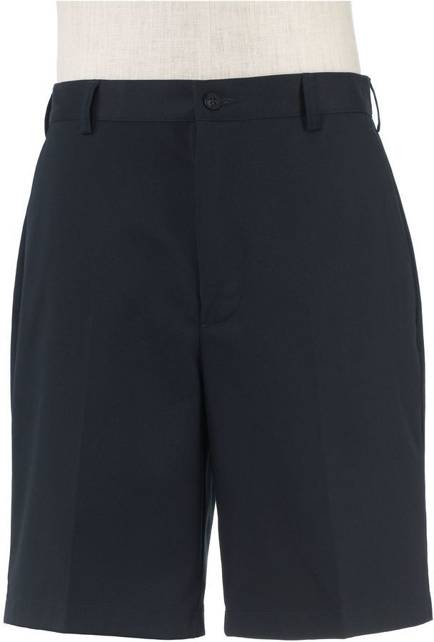 $34, Factory Store Tailored Fit Twill Shorts Plain Front. Sold by Jos. A. Bank. Click for more info: https://lookastic.com/men/shop_items/332334/redirect