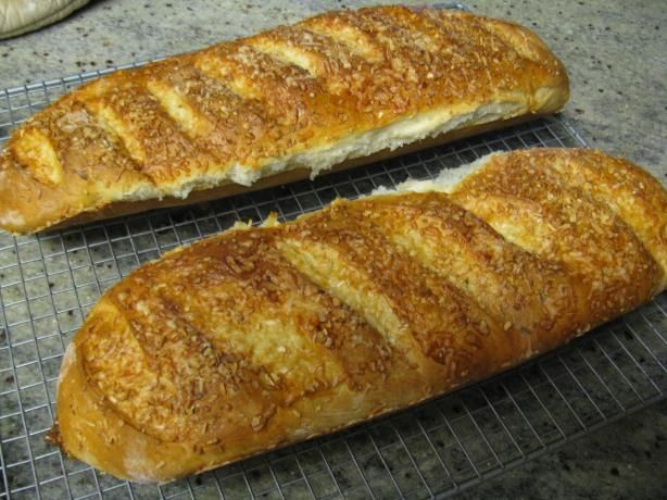 Asiago Cheese Bread.  Made this last night and the family devoured it! 9/19/13