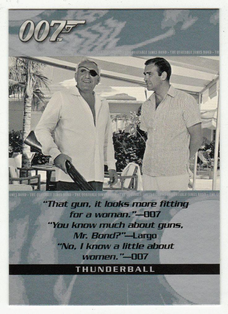 James Bond - The Quotable # 79 - Thunderball