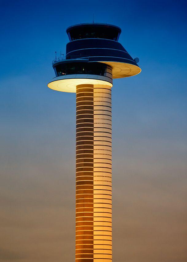 "500px / Photo ""Arlanda Airport Control Tower"" by Marek Czaja"
