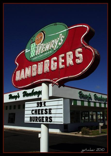Henry's Hamburgers...... Napier Michigan