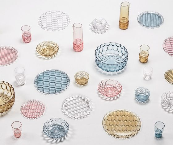 'Jellies Family' tableware by Patricia Urquiola for Kartell #designdeproduto #design #productdesign
