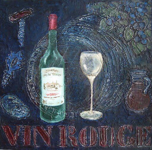 25 beste idee n over wijn schilderij op pinterest wijn kunst zwarte canvas schilderijen en - Ventilatie grot een vin ...