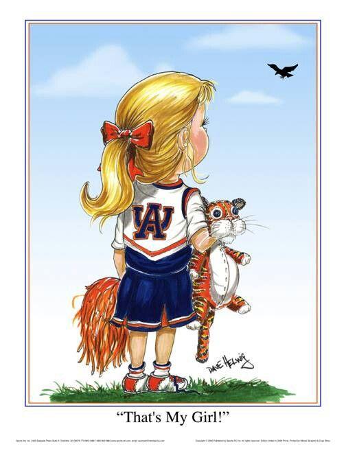 Auburn Girl...