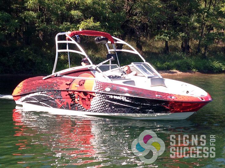 Best Boat Wraps Custom Vinyl Images On Pinterest Boat Wraps - Custom vinyl decals for boat