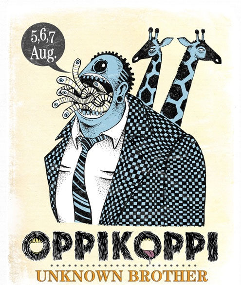 Oppikoppi 2011 illustrations