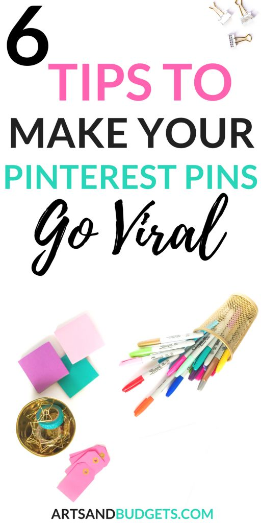 Are you currently looking for ways to make your Pinterest pins go viral? This post shares 6 Tips to make your Pinterest pins go viral online. | Pinterest Marketing | How To grow blog traffic with Pinterest| Viral Pinterest pins | How to grow on Pinterest | how to create viral pins #pinterestmarketing  #pinteresttips  #pinterest