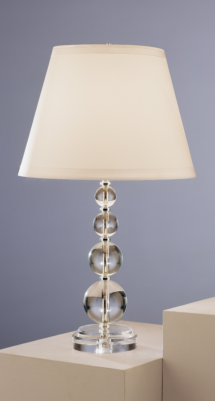 Lead crystal table lamp - Robert Abbey Venus And Juno Table Lamp In Lead Crystal Overall Dimensions 28 Hx5
