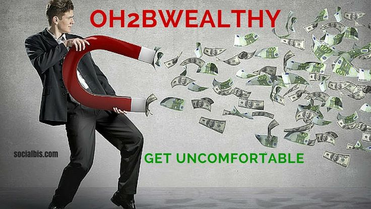 Peter Wheaton...Embrace Being Uncomfortable.. Oh2bwealthy..(Day16)