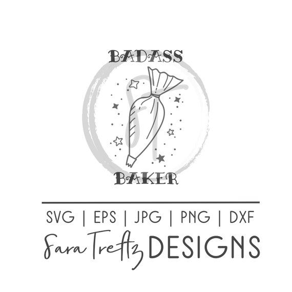 badass baker svg  baking svg  baker svg  tattoo style svg  kitchen svg  millenial svg  pastry