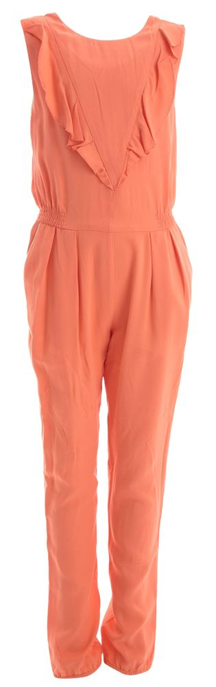 Oranje jumpsuit carrement beau online bij Deleye.be & BeKult