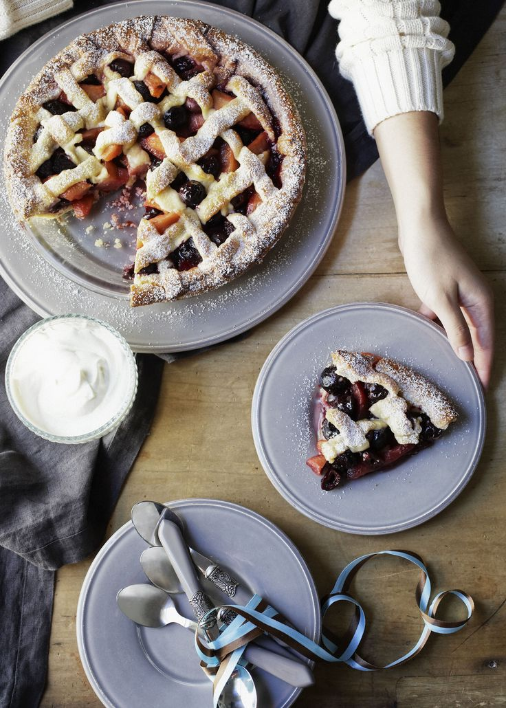 Savour the aroma of a freshly baked sweet pie delight wafting through your kitchen