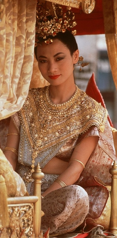 BAI Ling as Tuptim in Anna and the King. (This actress is beautiful.  She did a great job in a Touched By An Angel episode!)