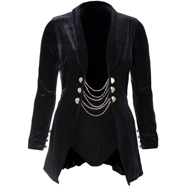 Plus Size 2 Piece Velvet Blazer and Bottoms Set, Black ($70) ❤ liked on Polyvore featuring outerwear, jackets, blazers, high waisted two piece, plus size fitted blazer, long sleeve jacket, women's plus size blazers and plus size blazer jacket