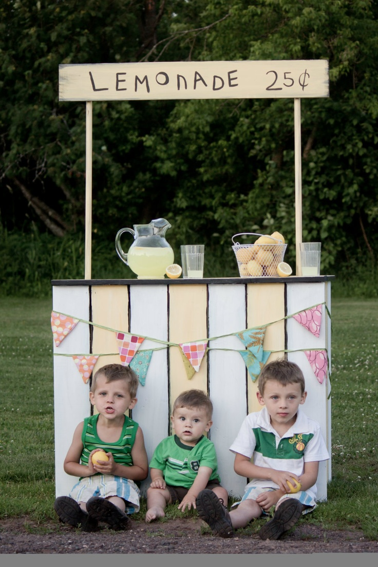 Custom Lemonade Stand-Photography Prop-Made to Order-Custom Colors and  Design.