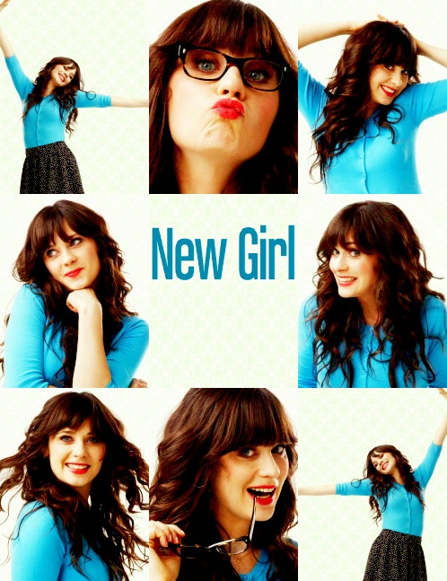 Zooey in the New Girl :)