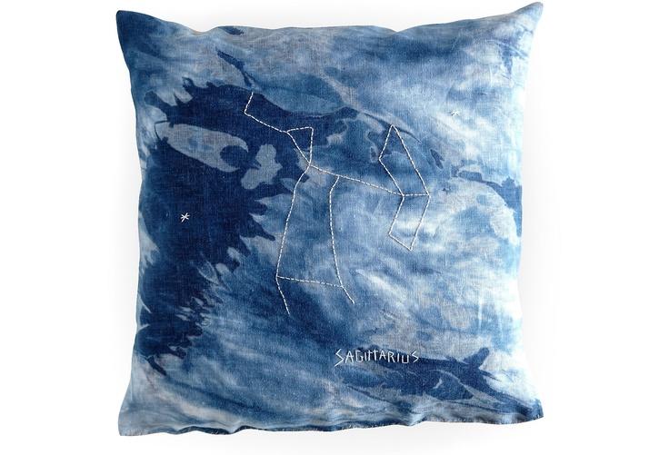 Sagittarius Constellation Pillow For In Depth Info On