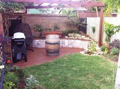 Backyard Courtyard Design Ideas Landscape   gardening ...