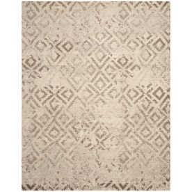 Safavieh Tunisia Rectangular Cream Transitional Woven Area Rug (Common: 8-ft x 10-ft; Actual: 8-ft x 10-ft)