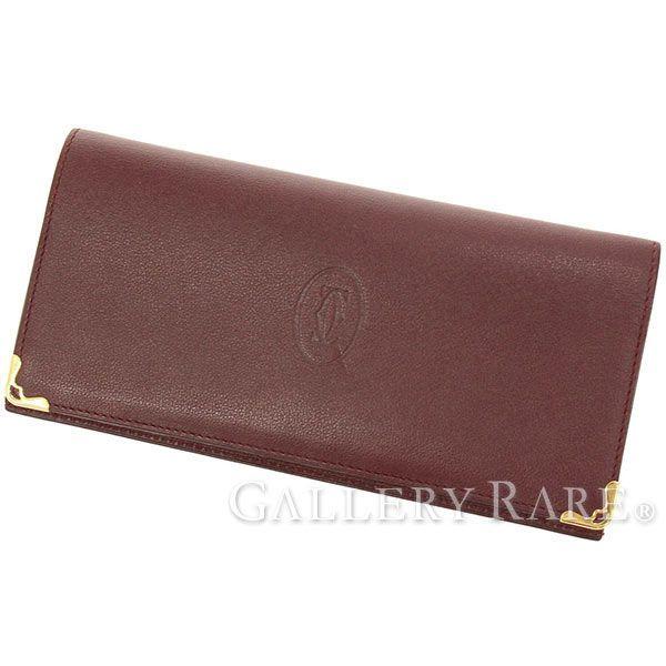 カルティエ 長財布 マスト・ドゥ・カルティエ コンパートメント インターナショナル ワレット L3001360 Cartier メンズ 札入れ 財布