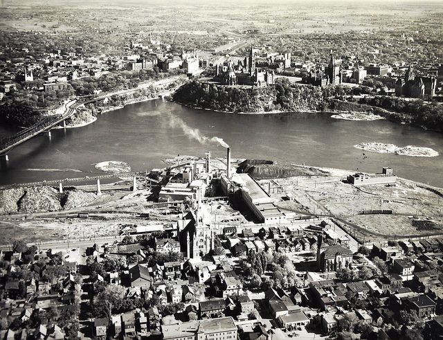 Ottawa from the Hull side 1940