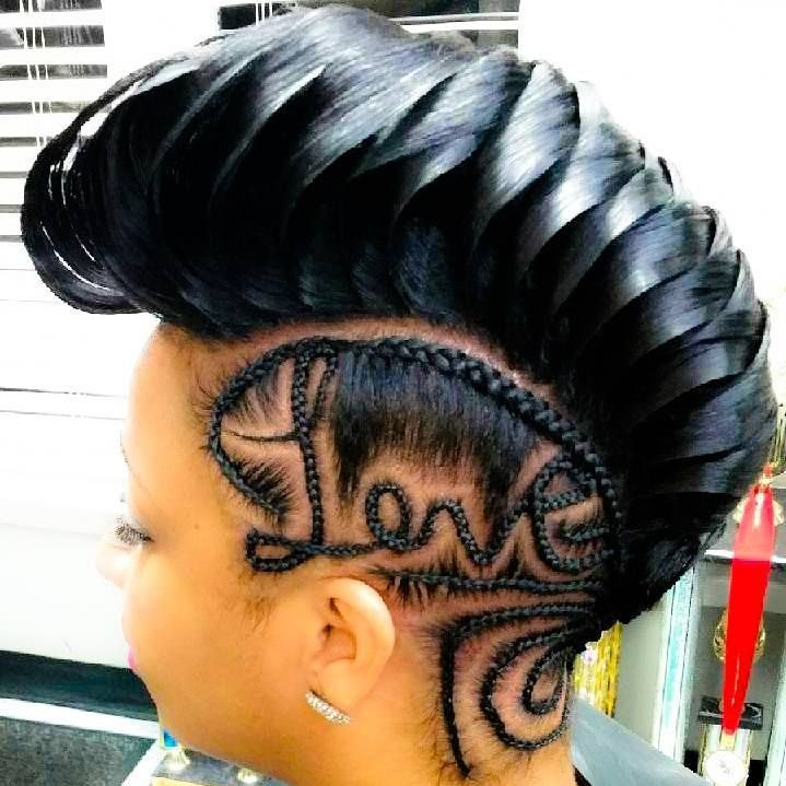 Braided Hairstyles For Black Girls 806 Best Hair Weaves Wigs And Braids Images On Pinterest  Natural