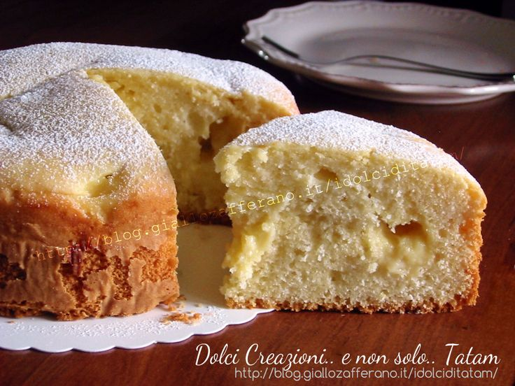Torta soffice con crema al limone è una deliziosa torta alta e soffice di frolla morbida senza burro, per rendere questo dolce ancora più leggero...