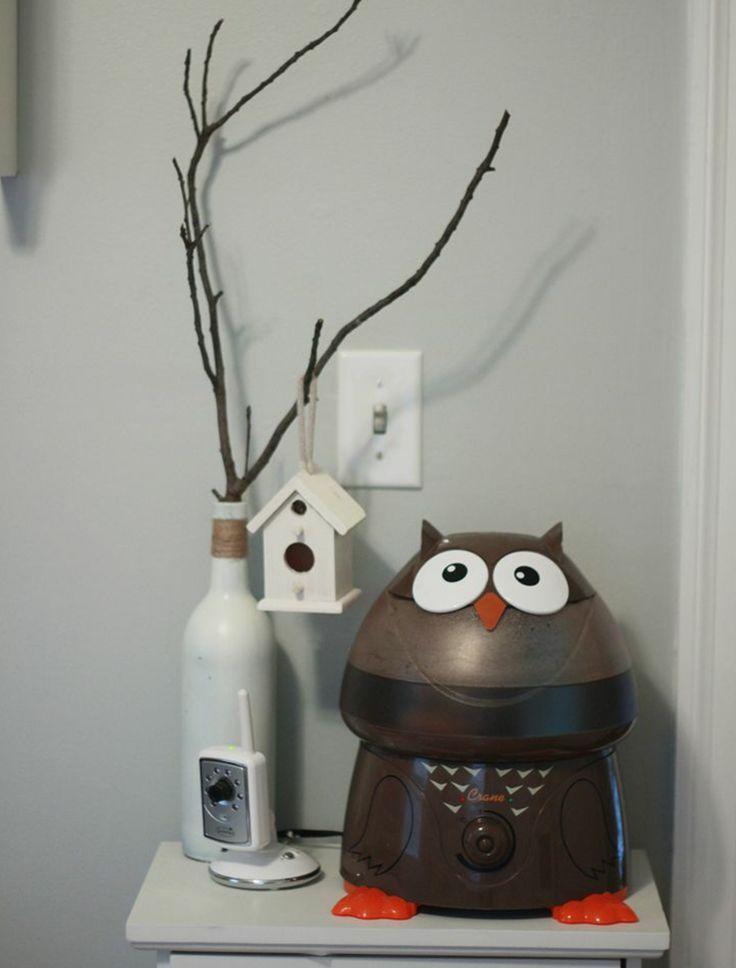 chouette la maison humidificateur chambre d 39 enfant vapeur froide id e pour une chambre d. Black Bedroom Furniture Sets. Home Design Ideas