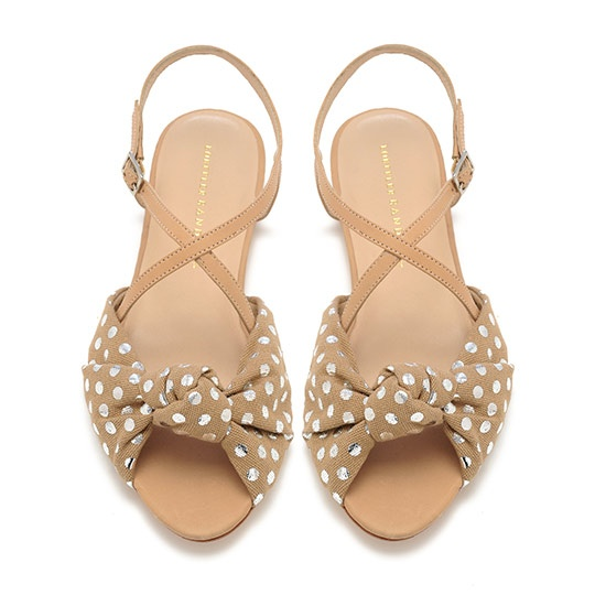 francie knot sandals from loeffler randall