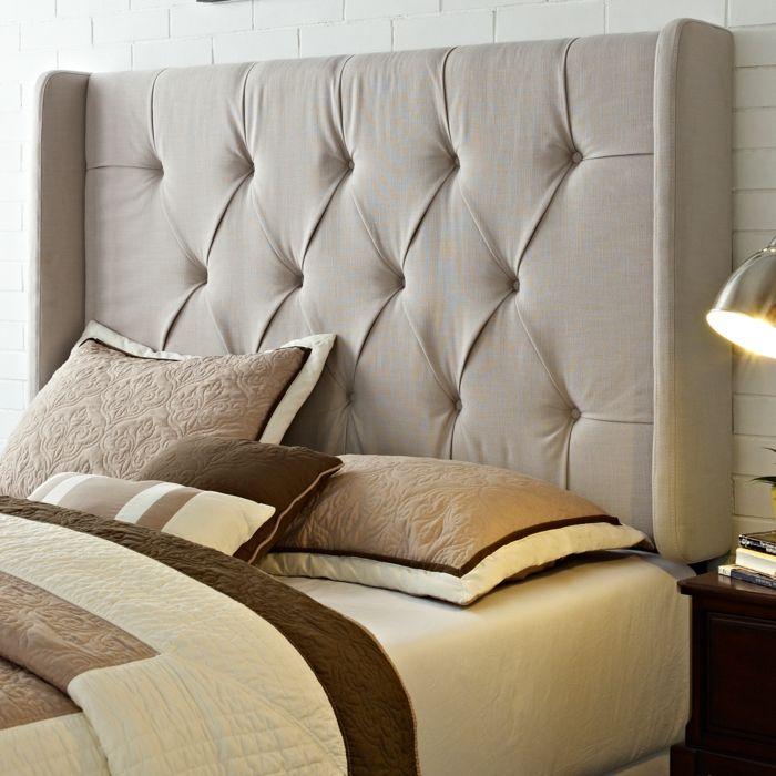 die besten 25+ bettkopfteil ideen auf pinterest | rattan kopfteil ... - Moderne Schlafzimmer Einrichtung Tendenzen