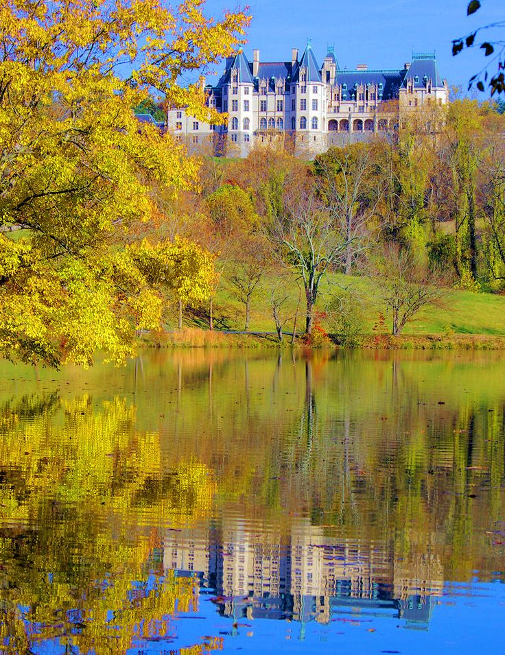 Fall at Biltmore House in Asheville NC -- beautiful no matter the season.  I am thankful I grew up in this great city, Asheville.