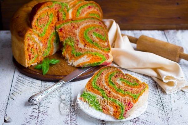 Рецепт австралийского овощного хлеба Il Gianfornaio
