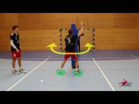 Handball Body Fake Basics - YouTube