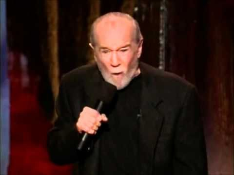 George Carlin - food advertising  Funny but WARNING..very adult language. If cursing offends you, please do not watch. George is at his usual offensive self here.