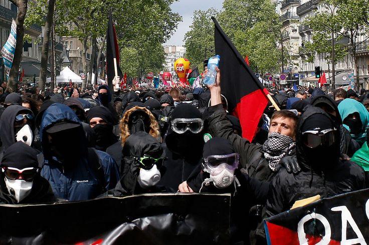 Manifestation 1er mai Paris 9