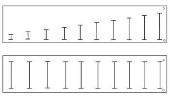 Montessori Sensorial Knobless Cylinders--Diameter and Heig