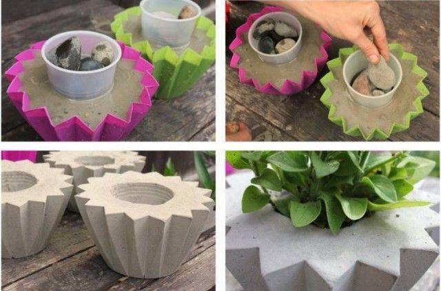 décoration-jardin-pas-cher-pot-fleur-artisanale-idées-conseils
