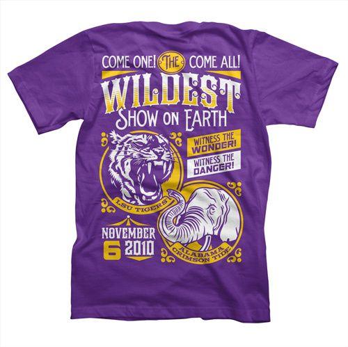 2010 LSU vs. Alabama Game Day Shirt