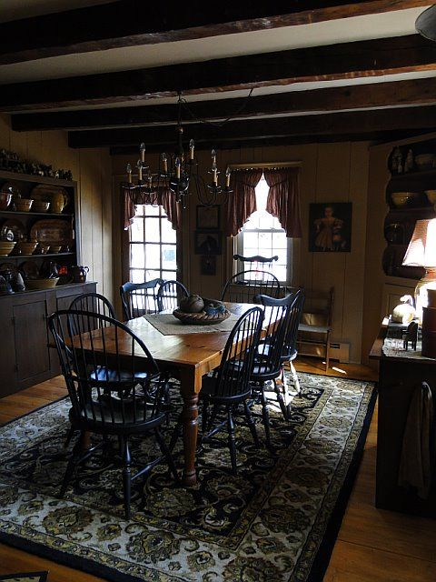395 Best Primitive Colonial Dining Rooms Images On
