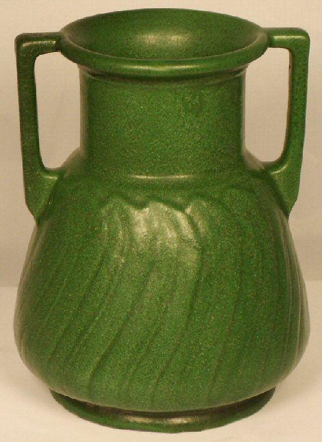 Weller Matte Green Arts Amp Crafts Vase Pottery Pinterest Arts Amp Crafts Vase And Pottery