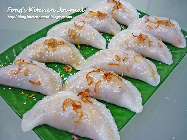 Fong's Kitchen Journal: Soon Kueh (笋馃)
