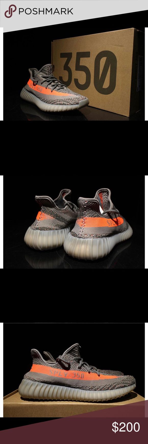 Brand New Yeezys boost 350 v2 Grey yeezys brand new in box with tags adidas Shoes Athletic Shoes