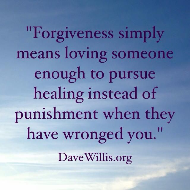 Dave Willis quote quotes forgiveness