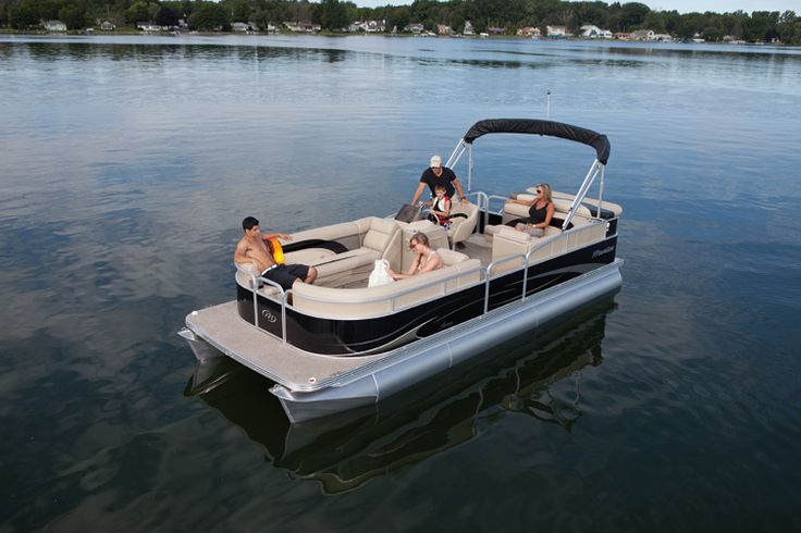 Aurora Photo Gallery | Manitou Pontoon Boats 22 Ft. Lounger