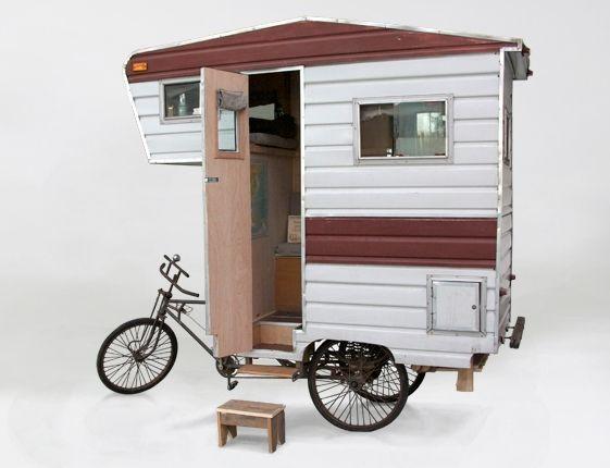 Ultimate camper bike | Cramper van | bicycle RV