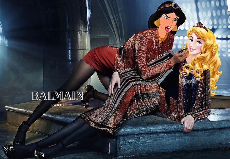 Princesas da Disney invadem o mundo da moda