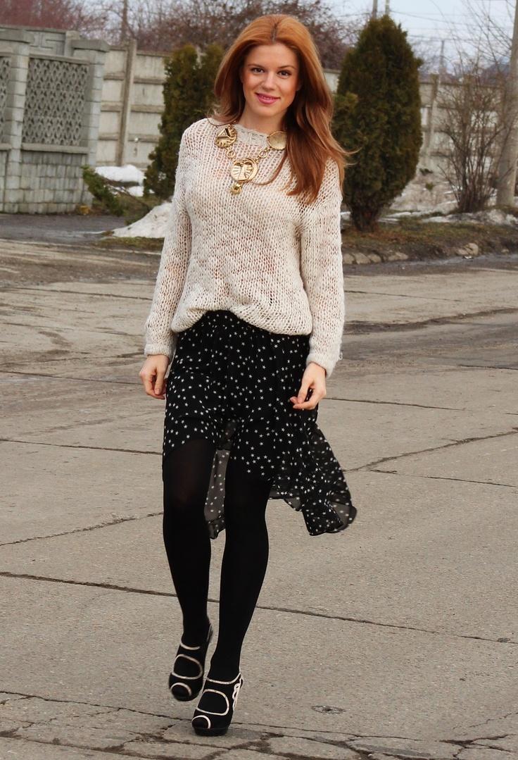 "I wear stars #fashion #style ""tail hem"""
