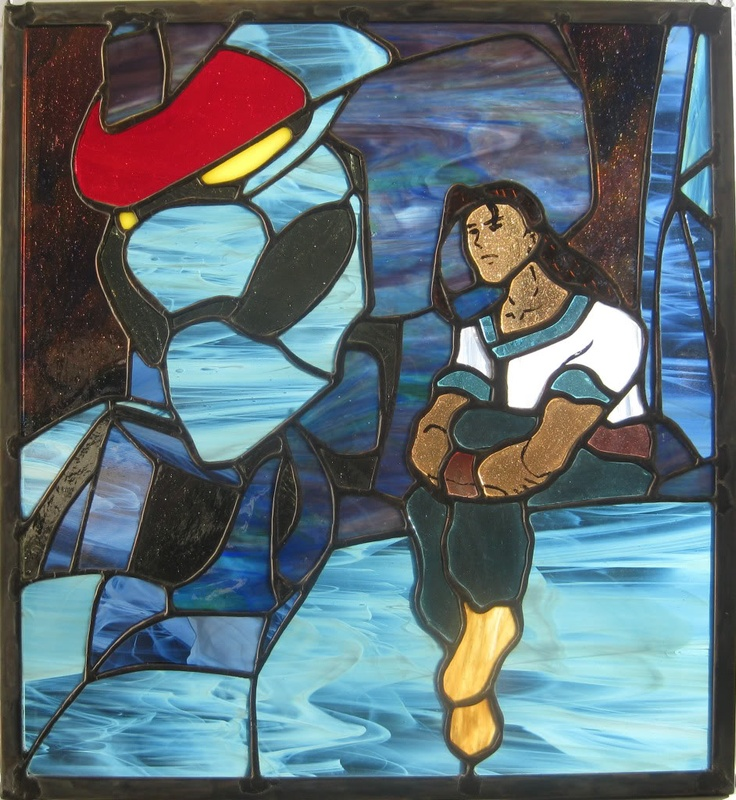 35 best xenogearsxenosaga images on pinterest video games stained glass panel of fei wong and weltall from the game xenogears fandeluxe Gallery